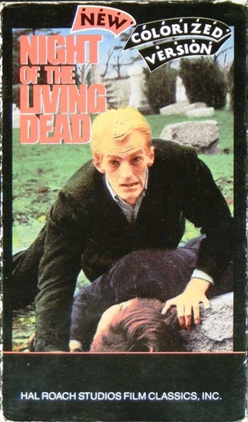 Night of the Living Dead (Colourised)