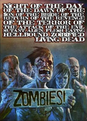Night of the Day of the Dawn of the Son of the Bride of the Return of the Revenge of the Terror of the Attack of the Evil, Mutant, Alien, Flesh Eating, Hellbound, Zombified Living Dead Part 2: In Shocking 2-D (1991)