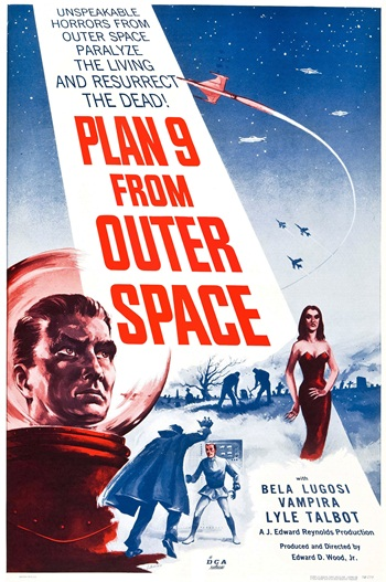 Plan 9 from outer space (1959) Ed Wood