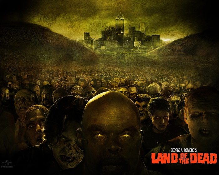 land of the dead george romero